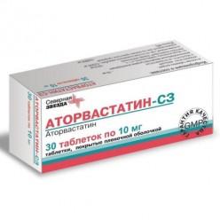 Аторвастатин-СЗ таб. п.п.о. 40мг №30