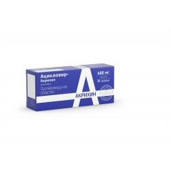 Ацикловир-Акрихин таб. 400мг №20