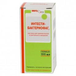 Бактериофаг-интести р-р внутр/рект 100мл