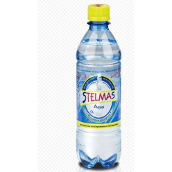 Вода Стэлмас О2 0,6л питьевая ИДВ