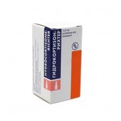 Гидрокортизон-Рихтер сусп. д/сустав и околосуст. введ. 25мг+5мг/мл 5мл №1