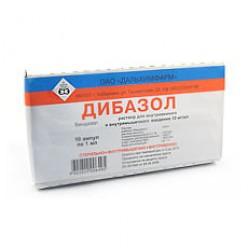 Дибазол р-р в/в и в/м 1% 1мл №10