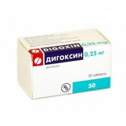 Дигоксин таб. 0,25мг №50