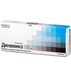 Динамико таб. п.о 50мг №4