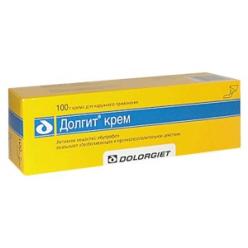 Долгит крем 5% 100г №1