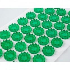 Иппликатор Кузнецова тибетский на мягкой подложке 12х22см  (зеленый)