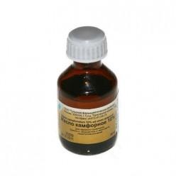 Камфорное масло р-р 10% 30мл