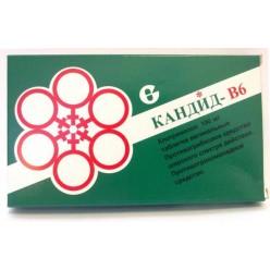 Кандид-В6 таб. ваг. 100мг №6
