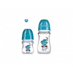 Канпол бутылочка 120мл соска силикон  (11/820/210204007)