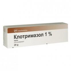 Клотримазол крем 1% 20г №1