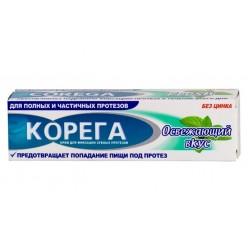 Корега крем д/фиксации зубных протезов 40мл освежающий вкус