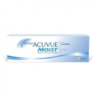 Линзы контактные 1 day acuvue moist pk 30 (d-14,2) bc 8,5 -3,00 №30
