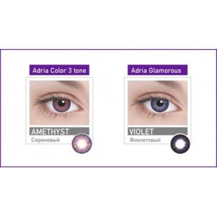 Линзы контактные цветные adria 3T 8,6 2 pack turquoise 0,00