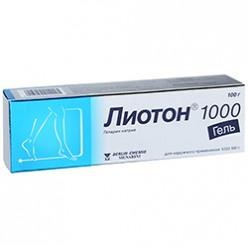Лиотон 1000 гель 100г №1