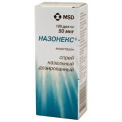 Назонекс спрей наз. 50мкг/доза 120доз 18г №1