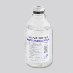Натрия хлорид р-р д/инф. 0,9% 400мл