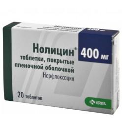 Нолицин таб. п.о 400мг №20
