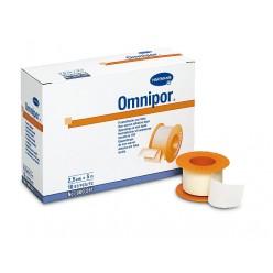 Пластырь Омнипор гипоаллерген неткан белый 5м х 2,5см №1  (9005512)