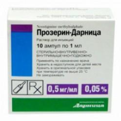 Прозерин р-р д/ин. 0,5мг/мл 1мл №10