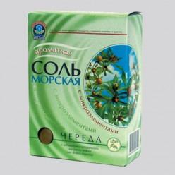 Соль морская Др аква лечебные травы череда 500г  (кор)