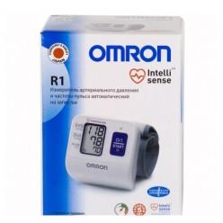 Тонометр автомат Омрон R1 на запястье HEM-6114-RU