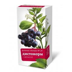 Фиточай Алтай N29 дистонорм с мелисой 2г №20