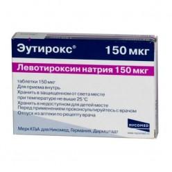 Эутирокс таб. 150мкг №100