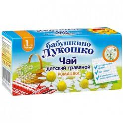 ДП бабушкино лукошко чай ромашка 1г №20  (1+мес)